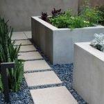 Изготовление грядок из бетона: шаг 5
