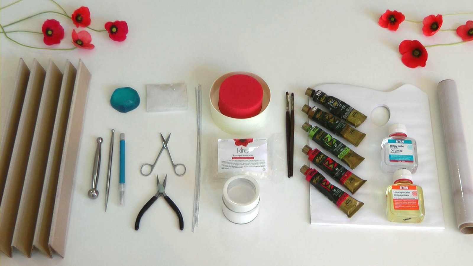 Инструменты для работы с холодным фарфором