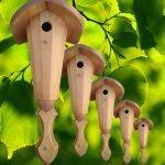 Декоративные домики для птиц