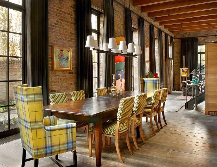 Мебель в интерьере в индустриальном стиле