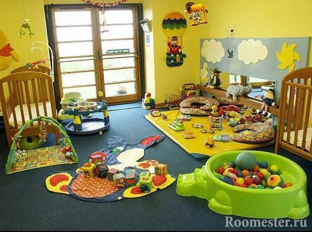 Комната с игрушками