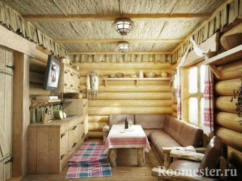 Маленькая гостиная комната