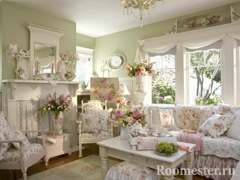 Комната в стиле прованс