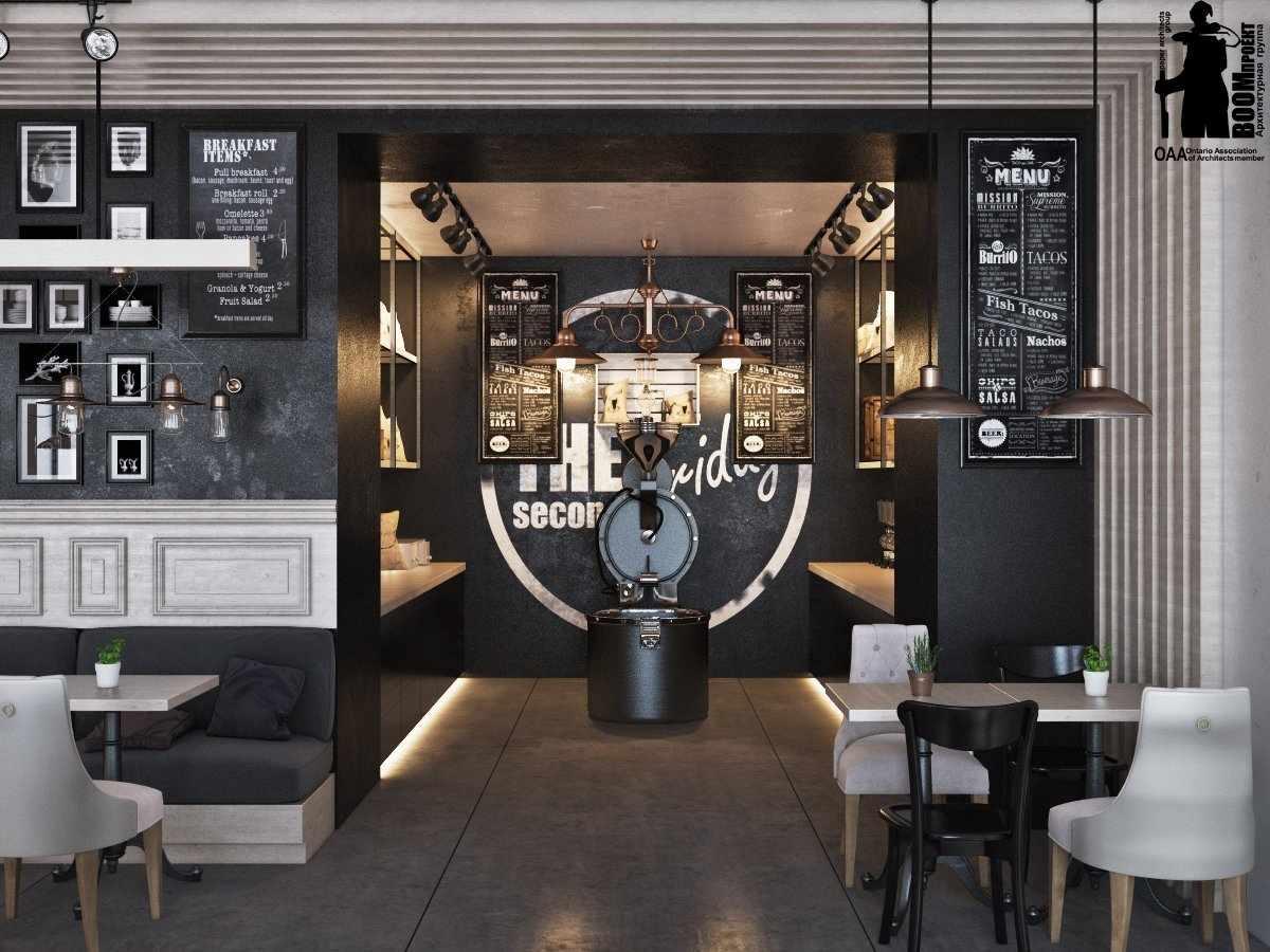 Декор в интерьере кафе в стиле лофт