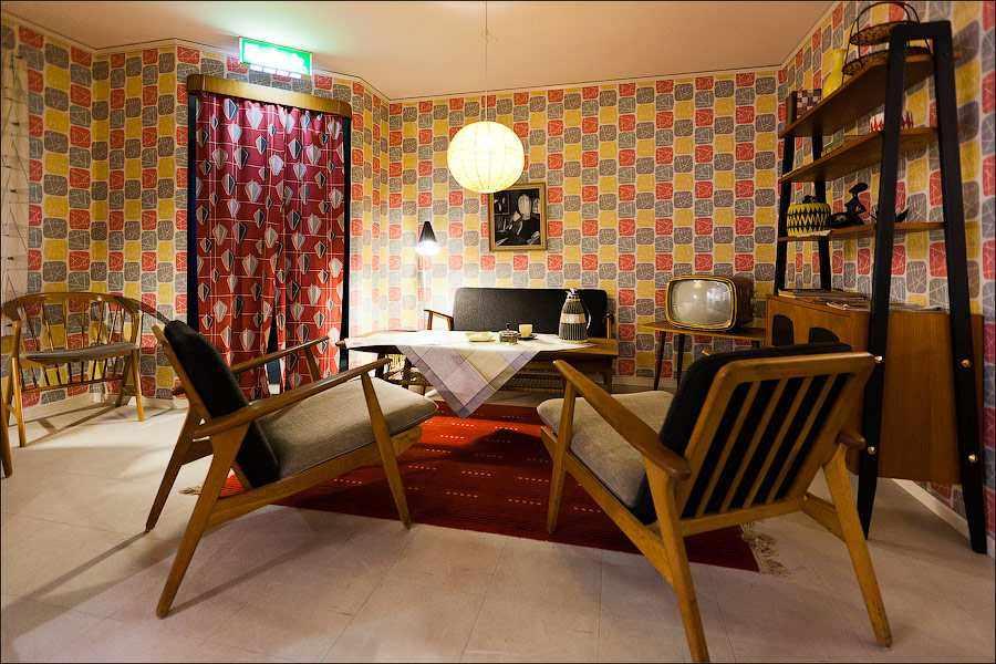 Оформление квартиры в стиле 1970-х годов