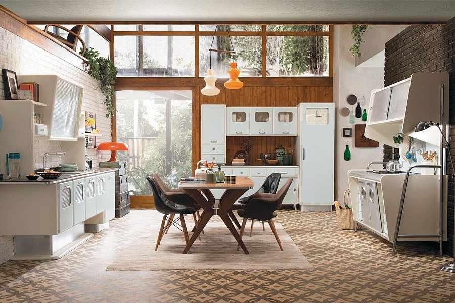 Кухня в стиле 70-х годов