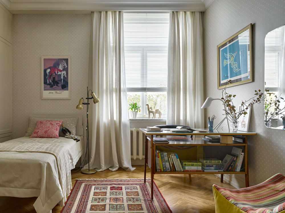 Спальня в стиле 70-х годов