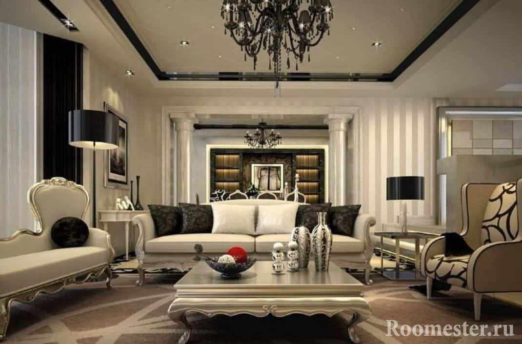 Квартира в стиле неоклассика