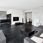 Черный и белый в дизайне квартиры
