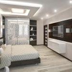 Вариант зонирования комнаты