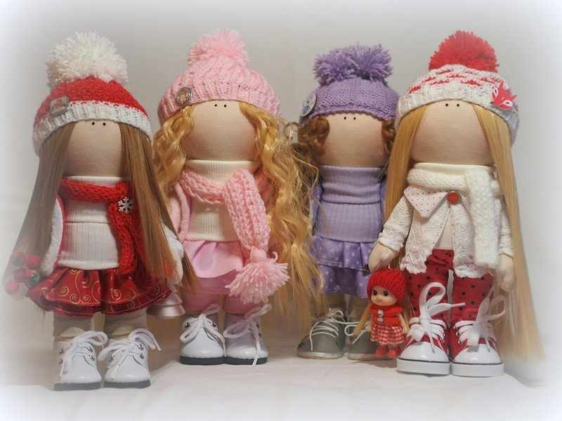 Куклы Большеножки