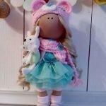 Кукла-снежок