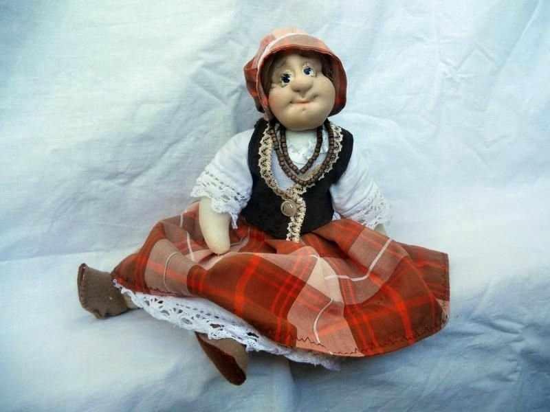 Кукла из капроновых колготок