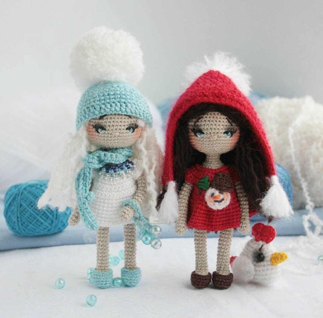 Куклы-амигуруми