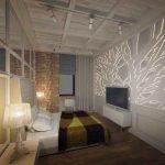 Светодиодная подсветка на стене