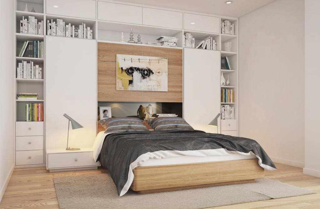 Креативная спальня