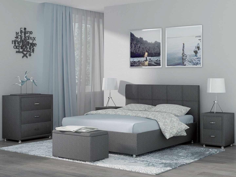 Кровать с креплением изголовья к корпусу