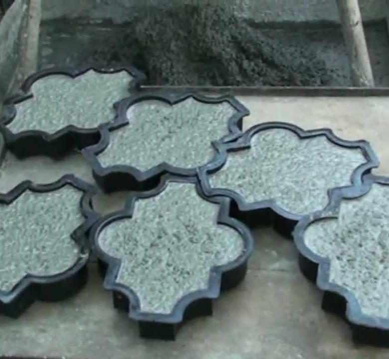 Технологии изготовления тротуарной плитки