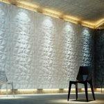 Панели с подсветкой на стенах