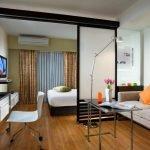 Оранжевые подушки в интерьере