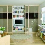 Телевизор в однокомнатной квартире