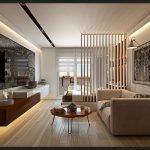 Интерьер однокомнатной квартиры в бежевых тонах