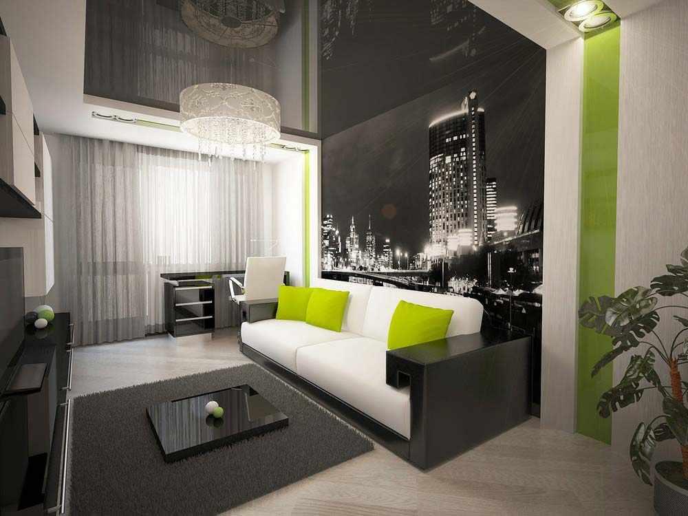 Мебелировка однокомнатной квартиры
