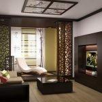 Однокомнатная квартира в стиле в японском стиле
