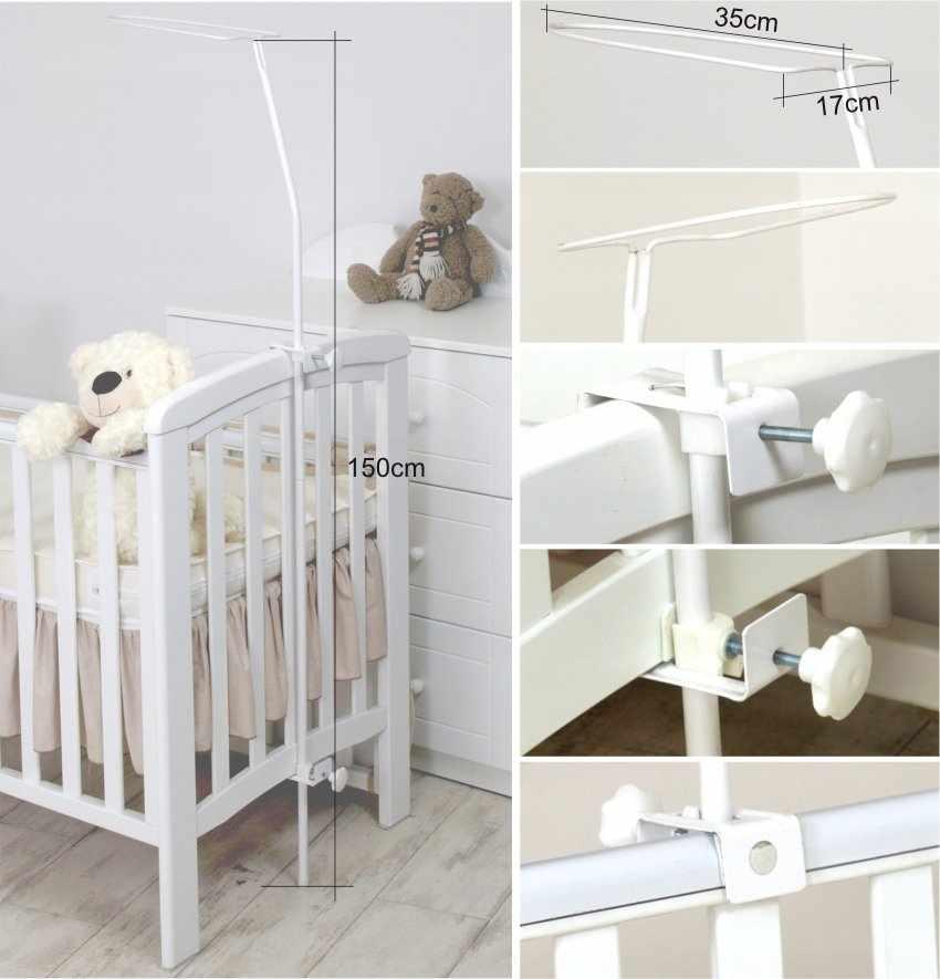 Крепление на детскую кроватку