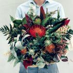 Мужской букет из цветов
