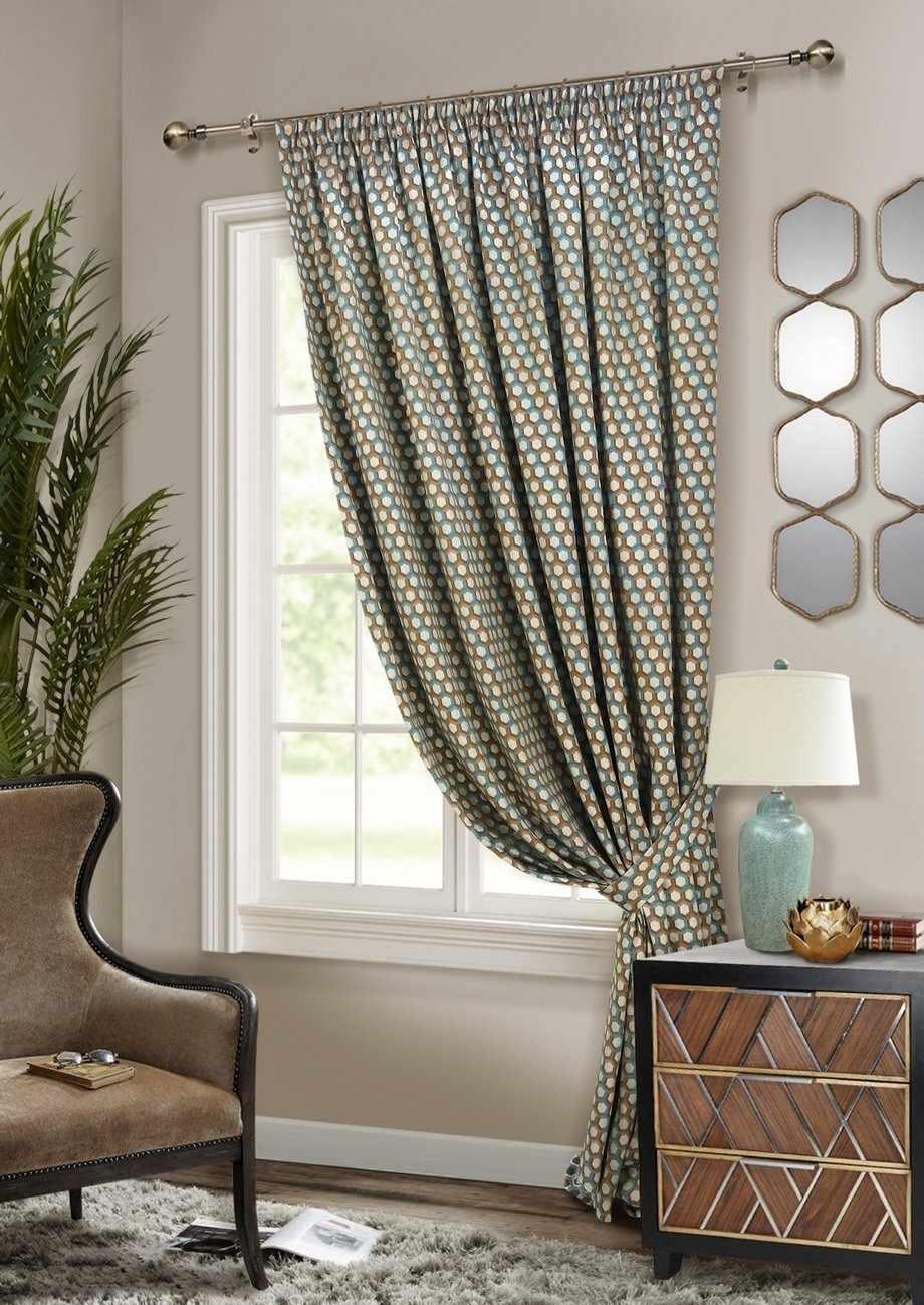 Корректировка окна при помощи текстиля