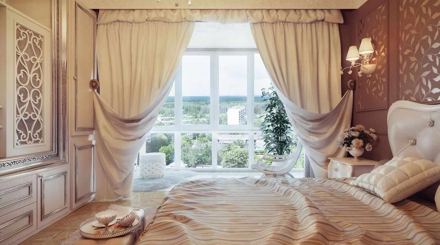 Изящные шторы в классическом стиле