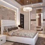 Раздвижнае двери в спальне