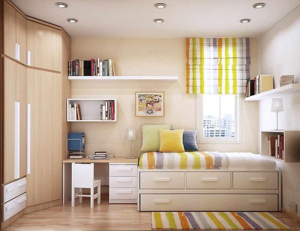 Расстановка мебели в детской