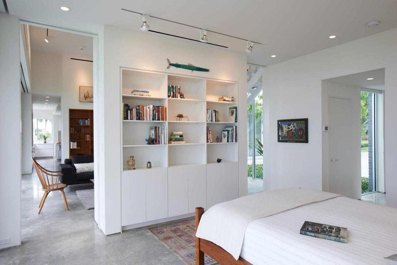 Зонирование интерьера мебелью