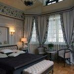 Спальня с эркером