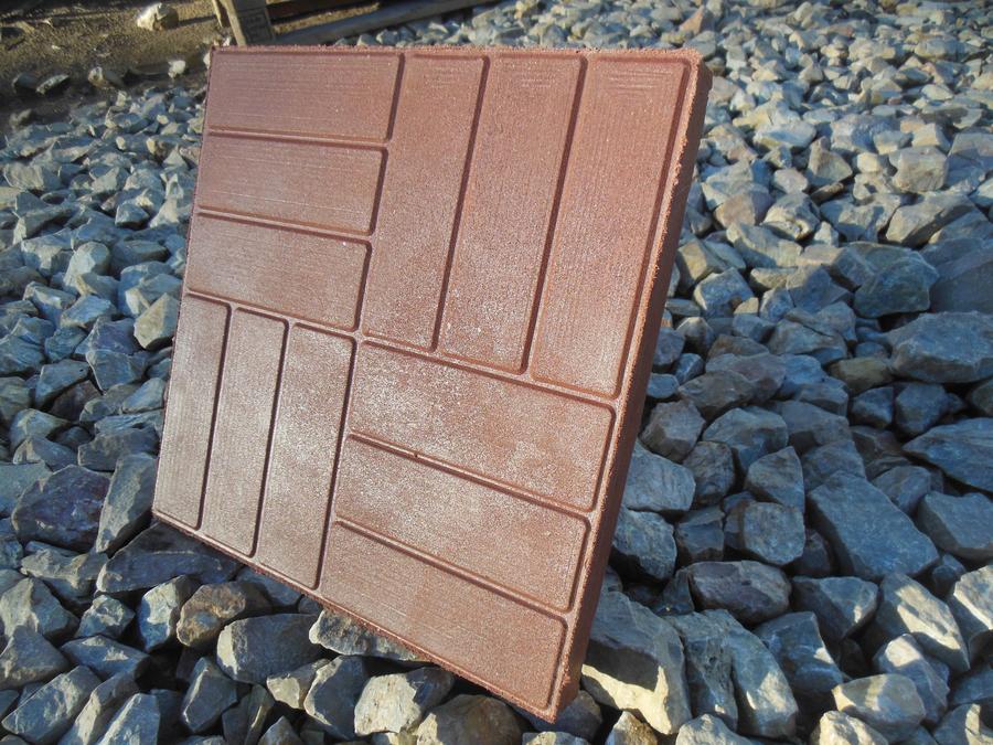 Полимерпесчаная тротуарная плитка