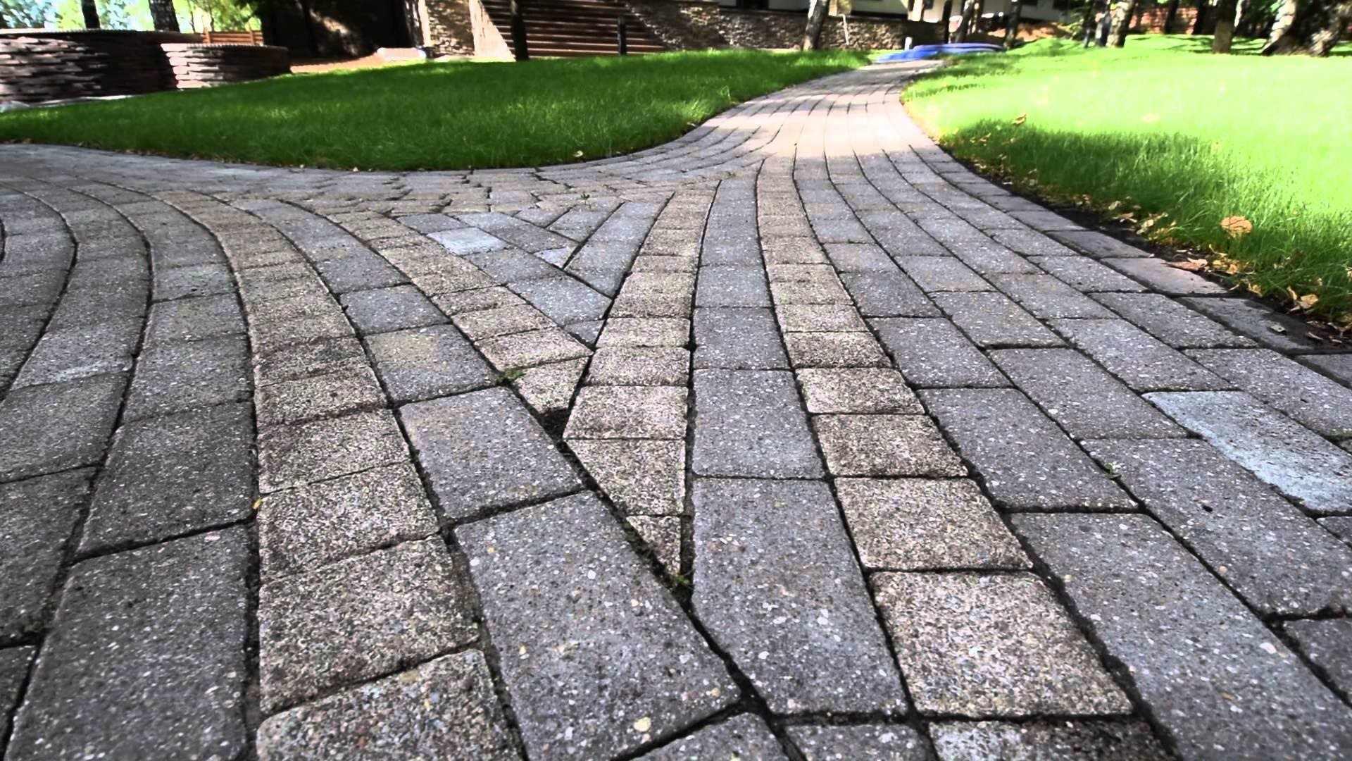 Тротуарная плитка классическая