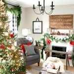 Новогодняя ёлка в гостиной