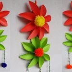 Объемные цветы из бумаги