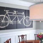 Велосипед на картине