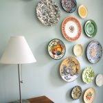 Сочетание разных тарелок