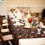 Цветовая гамма праздничного стола варианты