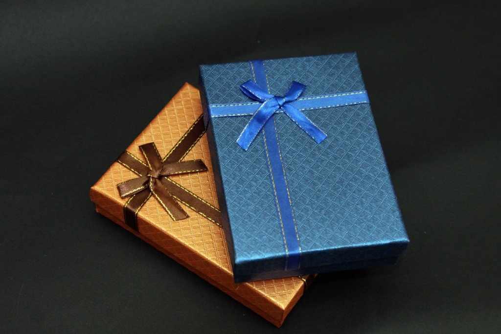 Упаковка подарка для мужчины