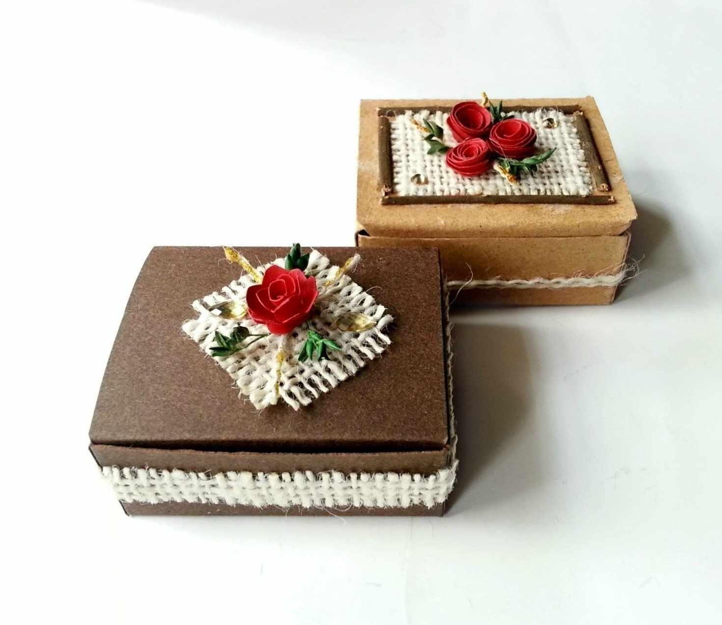 Самодельные коробочки для упаковки