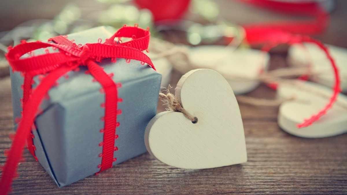 Упаковка на День святого Валентина