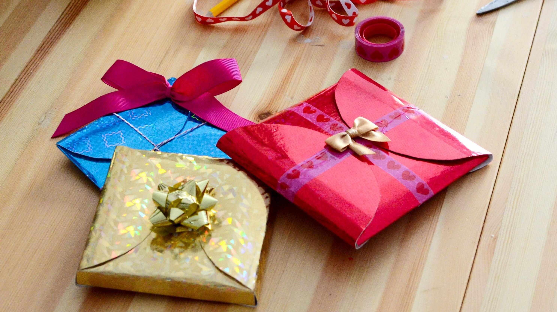 Оригинальная упаковка подарка