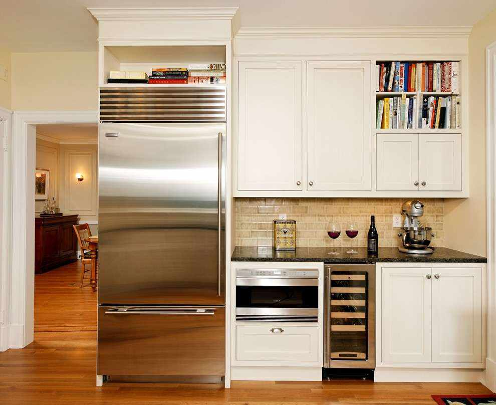 Расположение холодильника