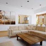 Картина в цвет мебели