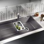 Черная раковина для кухни